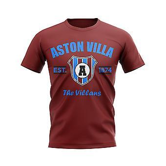 Астон Вилла создан футбольный футболку (бордовый)