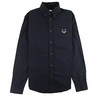 Kenzo Casual Tiger Shirt Black