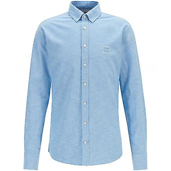 Camicia Oxford BOSS Slim Fit Mabsoot