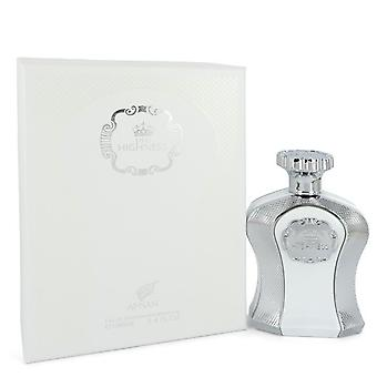 His Highness White by Afnan Eau De Parfum Spray 3.4 oz / 100 ml (Men)