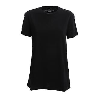 Balmain Th11601i2400pa Män's Black Cotton T-shirt