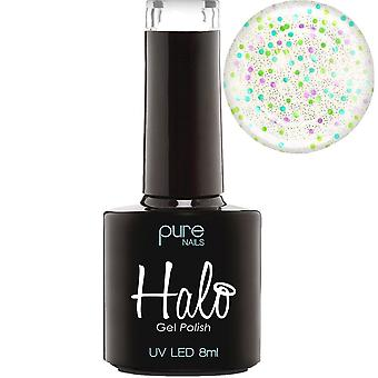 Halo gel nagels LED/UV Halo gel Polish collectie-Party Popper 8ml (N2873)