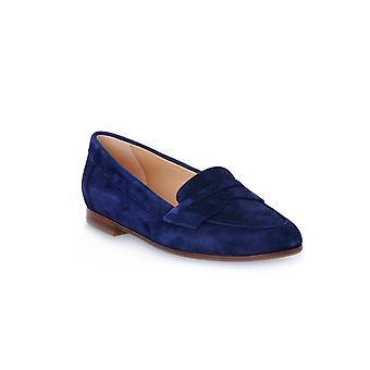 Frau suede navy shoes