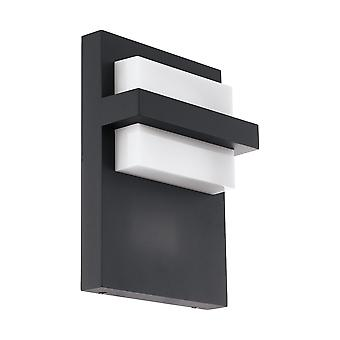 Eglo Culpina - LED luz de pared al aire libre Anthracite IP44 - EG98088