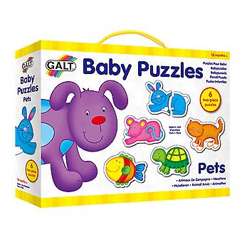Galt Toys New Baby Puzzle - Pets