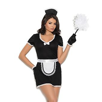 Womens Plus Size French Maid Halloween Costume