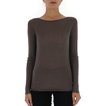 Fabiana Filippi Mad119b901n9071207 Women's Brown Cashmere Sweater