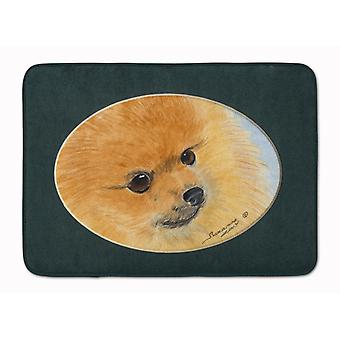 Carolines Treasures  SS8051RUG Pomeranian Machine Washable Memory Foam Mat