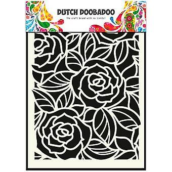 Dutch Doobadoo Big Roses A5 Stencil Mask 470.715.023
