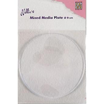 Nellie&s Scelta Gelplate rotondo 9cm NMMP005