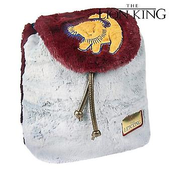 Casual Backpack The Lion King 72788 Grey Bordeaux