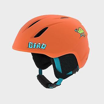 New Giro Giro Kids' Launch Snow Helmet Orange