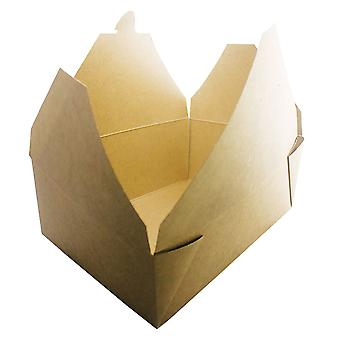 Kraft Medium Brown Deli Takeaway Boxes