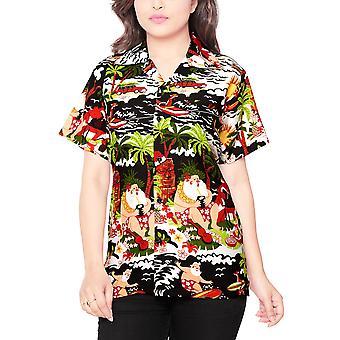 Club cubana women's regular fit classic short sleeve casual blouse shirt ccwx7