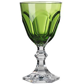 Mario Luca Giusti Dolce Vita Plastikowe szkło wodne zielony