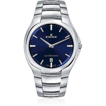 Edox - Wristwatch - Men - Les Bémonts - Ultra Slim Date - 56003 3 BUIN