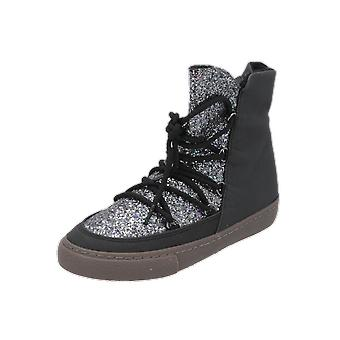 Gioseppo 41859 Kids Girls Boots Black Lace-Up Boots Winter