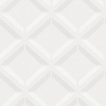 Kaleidoscope Lana Geo Wallpaper Light Grey Holden 90590