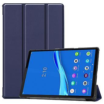 Premium Smart Cover Blue Case Case voor Lenovo Tab M10 Plus 10,3 inch X606F Case