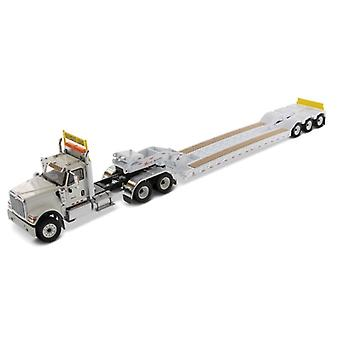 International HX520 Tandem Tractor with XL120 Low Profile HDG Trailer Diecast Model Lorry