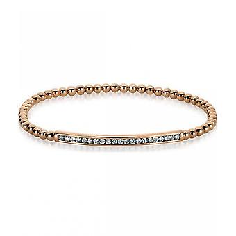 Diamond Bracelet Bracelet - 18K 750 Red Gold - 0.47 ct.