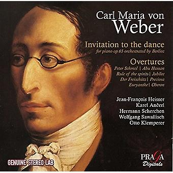 Weber / Heisser, Jean-Francois - Invitation to the Dance [CD] USA import
