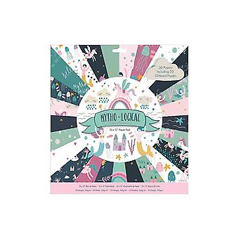 Papermania Mytho-Logische 12x12 Inch Paper Pad