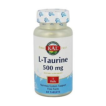 L-Taurine 60 tabletten van 500mg
