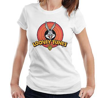 Looney Tunes Bugs Bunny Classic Logo Women's T-Shirt