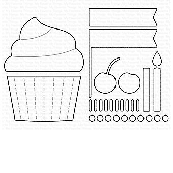 My Favorite Things Cupcake and Sprinkles Die-namics