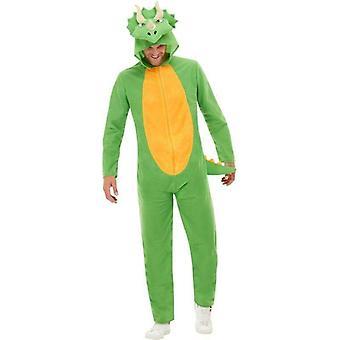 Dinosaur Costume Adult Green