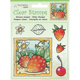 Marij Rahder Clear Stamps Strawberries