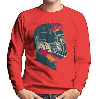 Marvel Guardians Of The Galaxy Vol 2 Star Lord Wearing Mask Men's Sweatshirt
