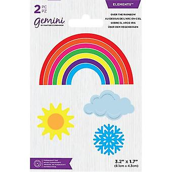 Gemini Over the Rainbow Mini Elements Dies