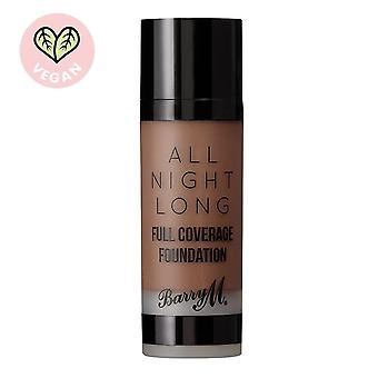 Barry M All Night Long Full Coverage Foundation-Pecan