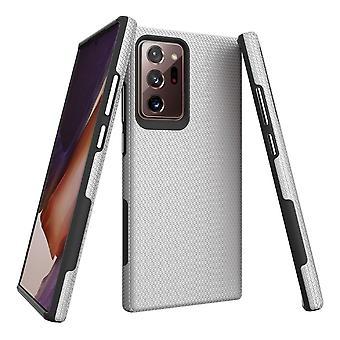 Für Samsung Galaxy Note 20 Ultra Armour Case Tough Protective Cover Silver