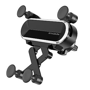Bakeey gravity linkage automatic lock air vent car phone holder for 4.0-6.7 inch smart phone for iphone 11 for samsung galaxy note 10 xiaomi