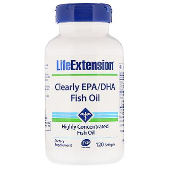 Life Extension, Clearly EPA/DHA Fish Oil, 120 Softgels