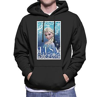 Disney Frozen Elsa Queen of Ice Juliste Design Miehet & Hupullinen Collegepaita
