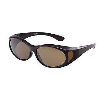 Sunglasses Unisex brown with brown lens VZ0002B