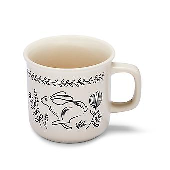 Cooksmart Country Animals Lipped Mug, Hare