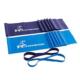 Furinno RFitness Professional Training Exercise Fitness Resistance Band 4-PC Set