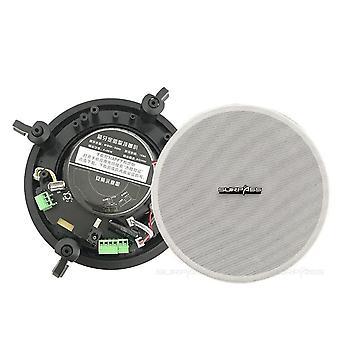 Home Pa Audio Waterproof Active Bluetooth In-ceiling Speaker 5.25''