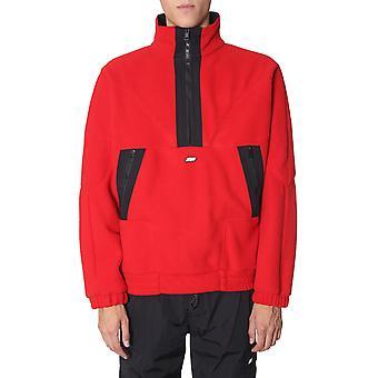 Msgm 2740mm04x19550318 Herren's rot Polyester Sweatshirt