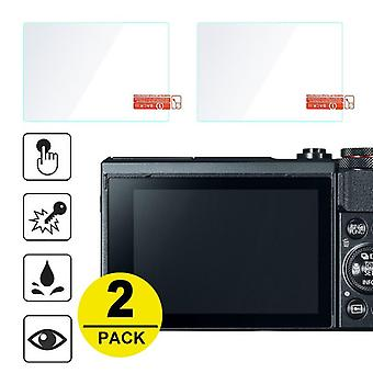 2x Tempered Glass Screen-protector For Canon Powershot G7x/mark Iii
