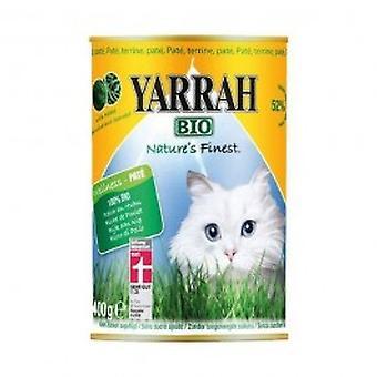 Yarrah - Chicken Pate With Spirulina & Seaweed