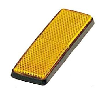 Optronics RE-15Ak Reflection, Rectangular, Amber