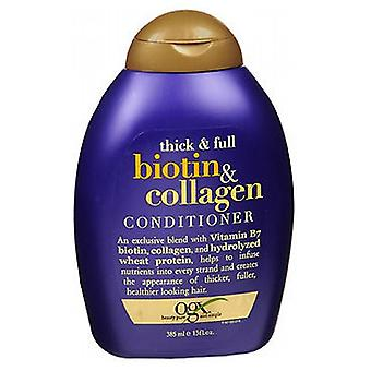 Organix Thick and Full Biotin Collagen Conditioner, 13 oz