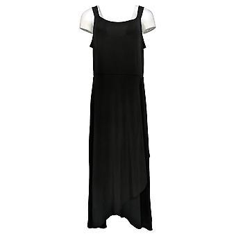 BROOKE SHIELDS Timeless Dress Regular Sleeveless Maxi Black A307769