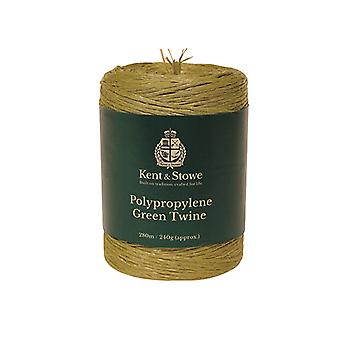 Kent & Stowe Poly Green Twine 280m (240g) K/S70100810